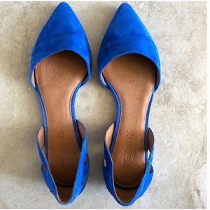 Madewell Blue D'orsay Flat